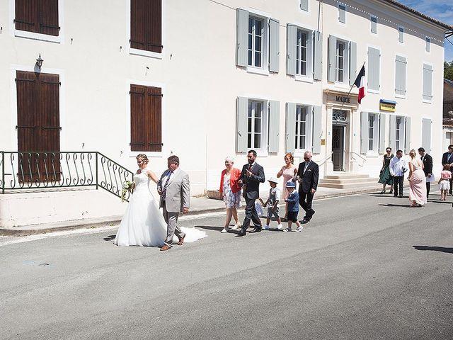 Le mariage de Benjamin et Amélie à Fontaine-Chalendray, Charente Maritime 41