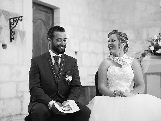 Le mariage de Benjamin et Amélie à Fontaine-Chalendray, Charente Maritime 48