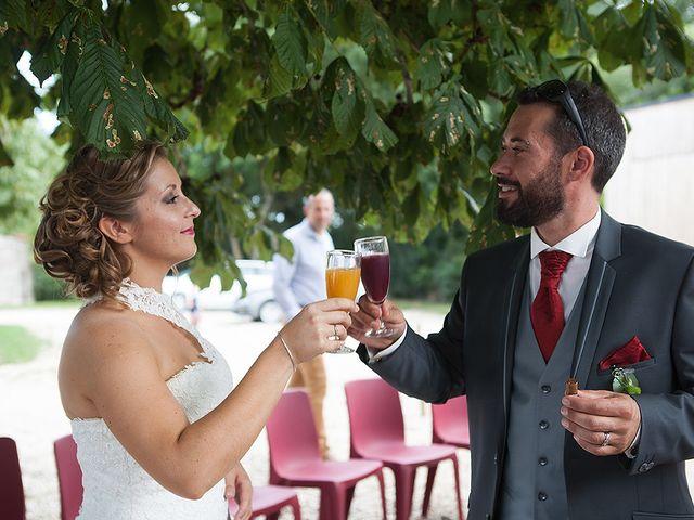 Le mariage de Benjamin et Amélie à Fontaine-Chalendray, Charente Maritime 78