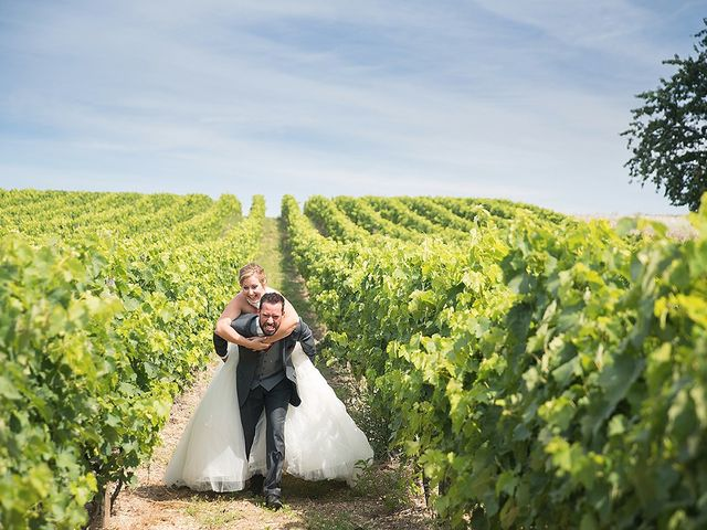 Le mariage de Benjamin et Amélie à Fontaine-Chalendray, Charente Maritime 103