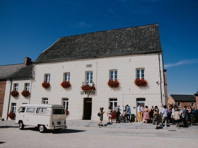 Le mariage de Sébastien et Marie à Maroilles, Nord 7