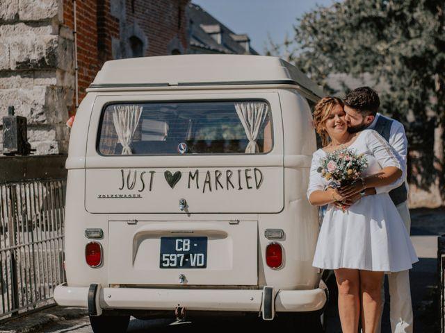 Le mariage de Sébastien et Marie à Maroilles, Nord 68