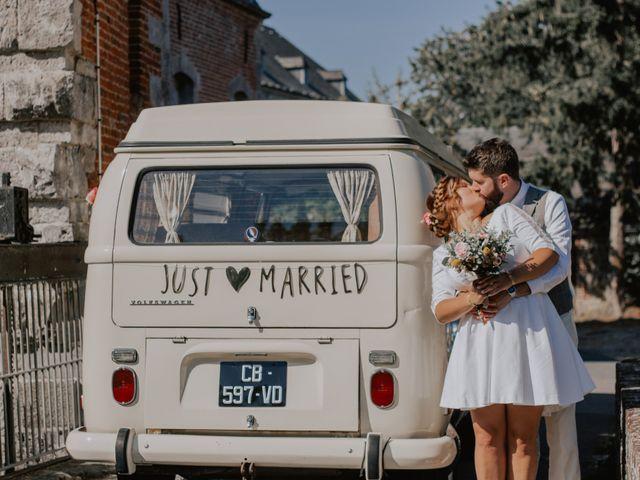 Le mariage de Sébastien et Marie à Maroilles, Nord 69