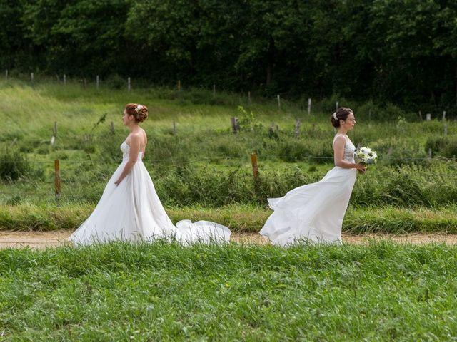Le mariage de Marine et Audrey à Soulaires, Eure-et-Loir 2