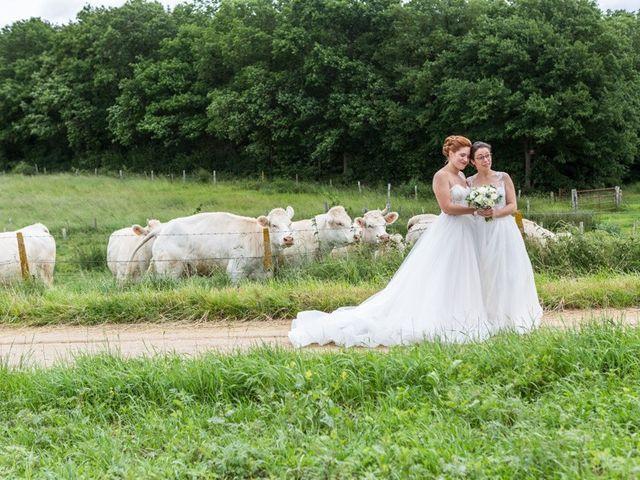 Le mariage de Marine et Audrey à Soulaires, Eure-et-Loir 6