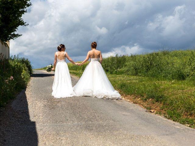Le mariage de Marine et Audrey à Soulaires, Eure-et-Loir 9