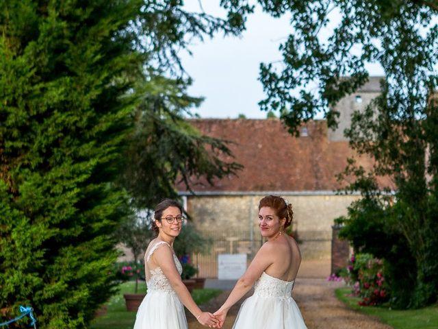 Le mariage de Marine et Audrey à Soulaires, Eure-et-Loir 15
