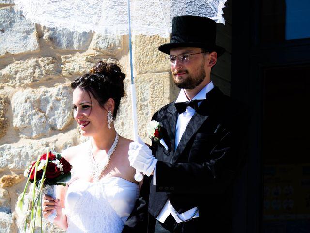 Le mariage de Jérémy et Aurore à Laveyron, Drôme 8