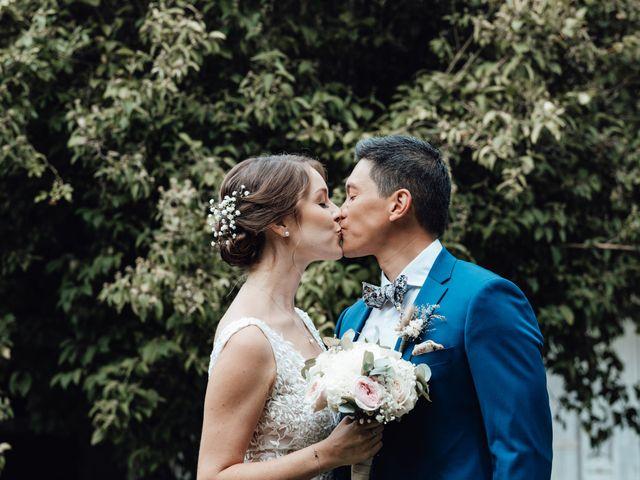 Le mariage de Laurie et David