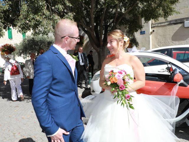 Le mariage de Julien et Pamela à Comps, Gard 3