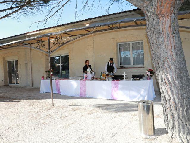 Le mariage de Julien et Pamela à Comps, Gard 15