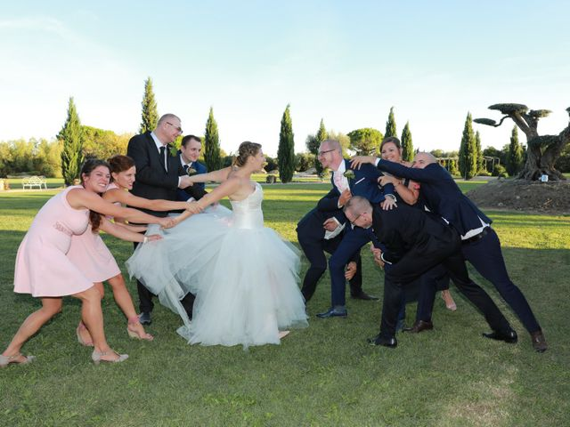 Le mariage de Julien et Pamela à Comps, Gard 30