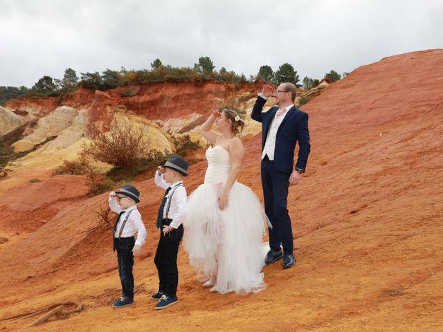Le mariage de Julien et Pamela à Comps, Gard 57