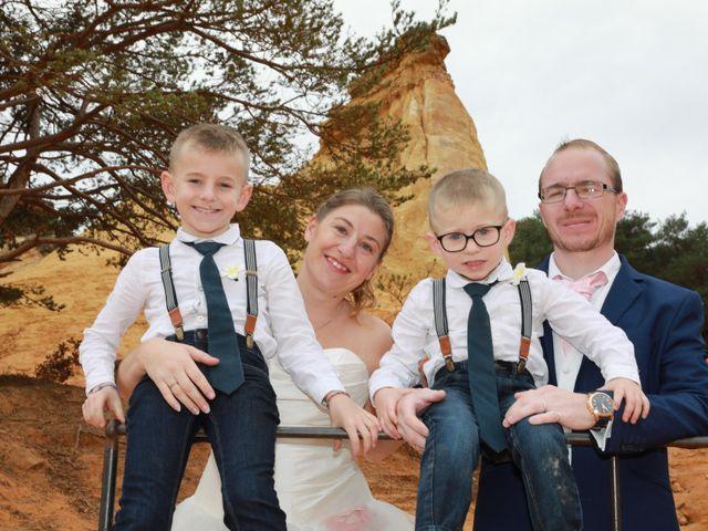 Le mariage de Julien et Pamela à Comps, Gard 59