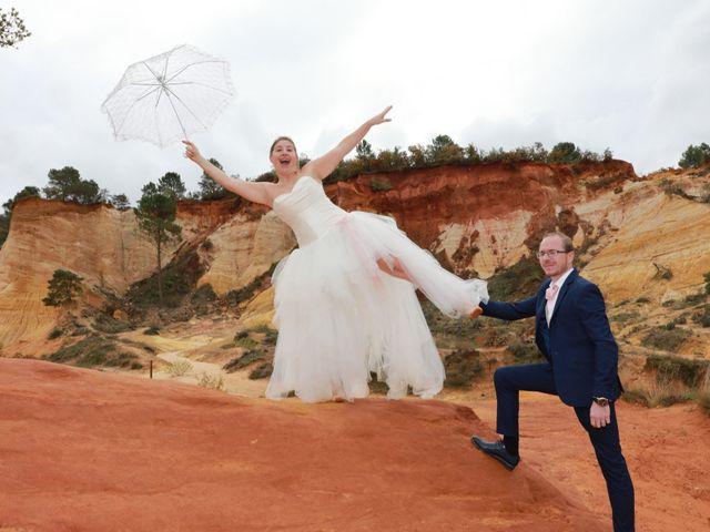 Le mariage de Julien et Pamela à Comps, Gard 63