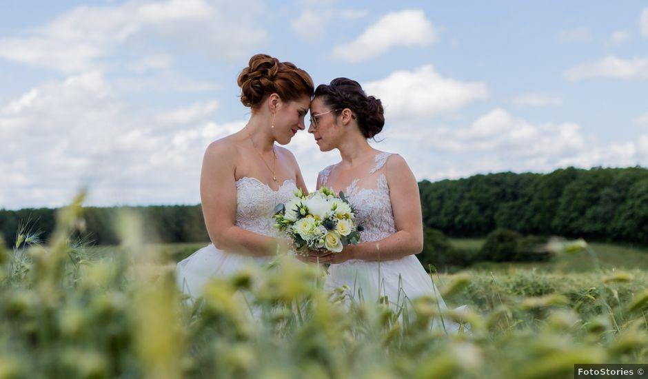 Le mariage de Marine et Audrey à Soulaires, Eure-et-Loir