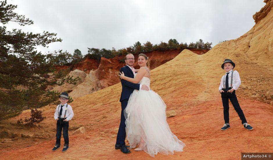 Le mariage de Julien et Pamela à Comps, Gard