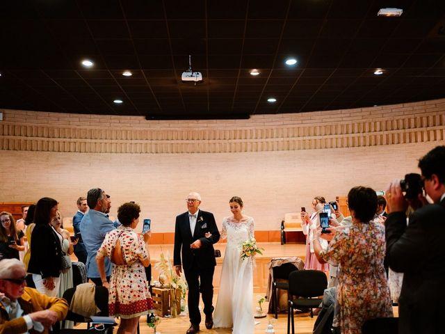Le mariage de David et Lucie à Montgaillard, Ariège 37