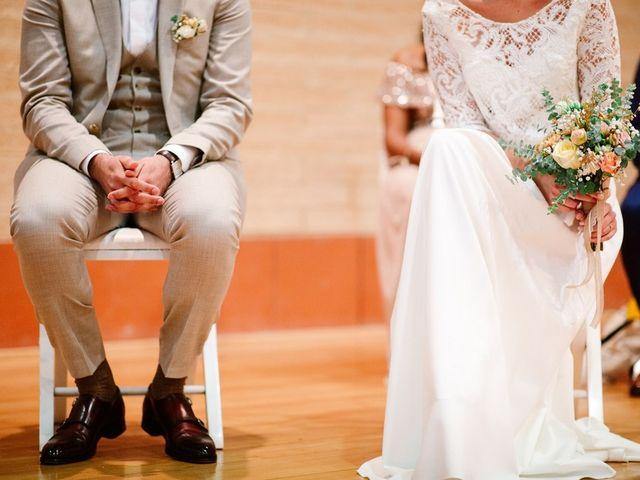 Le mariage de David et Lucie à Montgaillard, Ariège 38