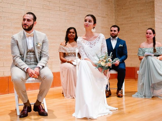 Le mariage de David et Lucie à Montgaillard, Ariège 41