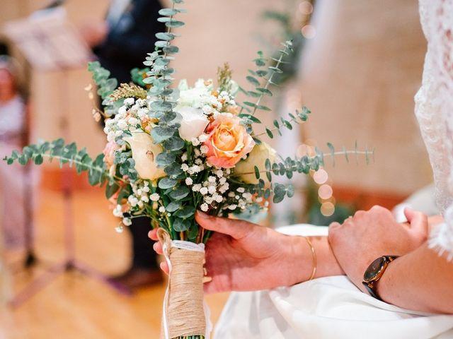 Le mariage de David et Lucie à Montgaillard, Ariège 44