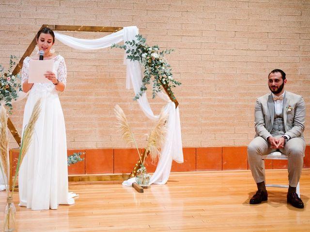 Le mariage de David et Lucie à Montgaillard, Ariège 48
