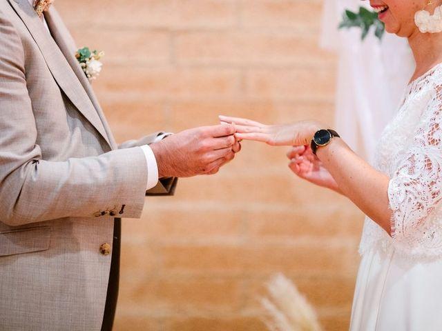 Le mariage de David et Lucie à Montgaillard, Ariège 55