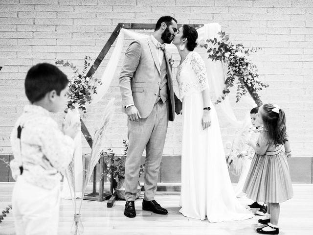Le mariage de David et Lucie à Montgaillard, Ariège 56