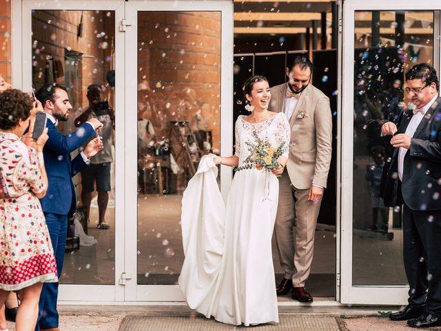 Le mariage de David et Lucie à Montgaillard, Ariège 61