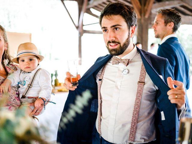 Le mariage de David et Lucie à Montgaillard, Ariège 65
