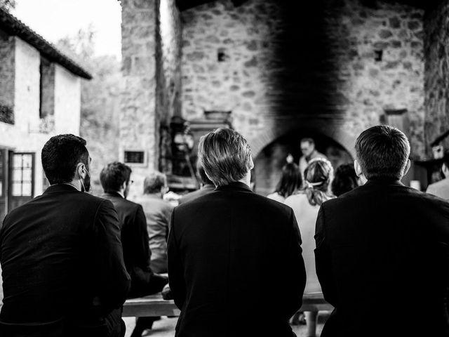Le mariage de David et Lucie à Montgaillard, Ariège 84