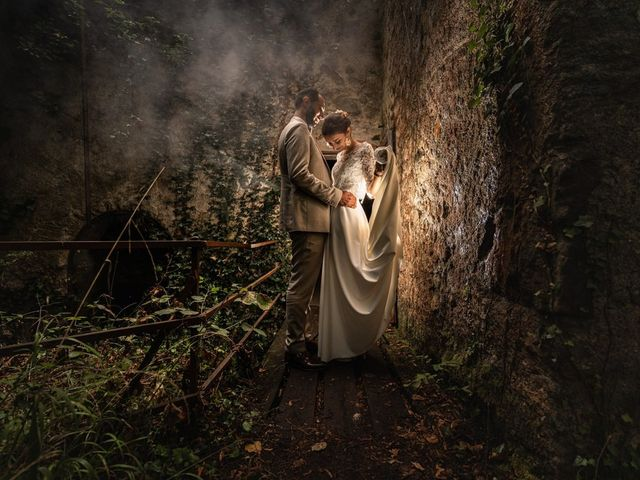 Le mariage de David et Lucie à Montgaillard, Ariège 85