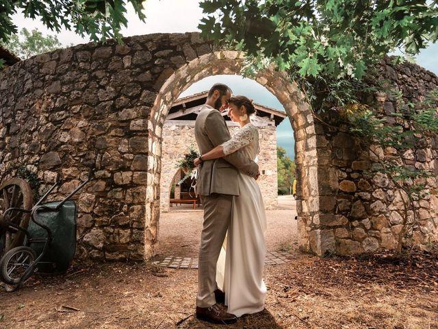 Le mariage de David et Lucie à Montgaillard, Ariège 86