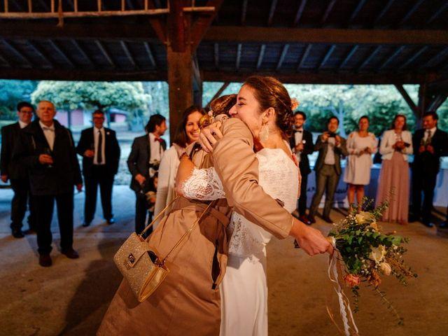 Le mariage de David et Lucie à Montgaillard, Ariège 89