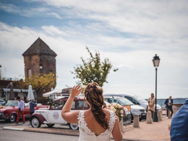 Le mariage de Solènne et Matthieu à Giroussens, Tarn 14