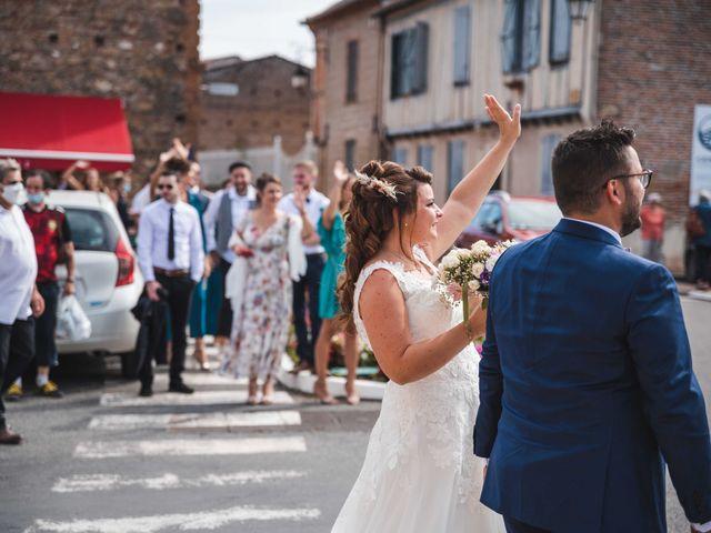 Le mariage de Solènne et Matthieu à Giroussens, Tarn 15