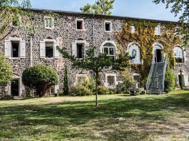 Le mariage de Geoffrey et Sonia à Lussas, Ardèche 1