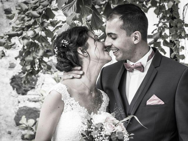 Le mariage de Geoffrey et Sonia à Lussas, Ardèche 16
