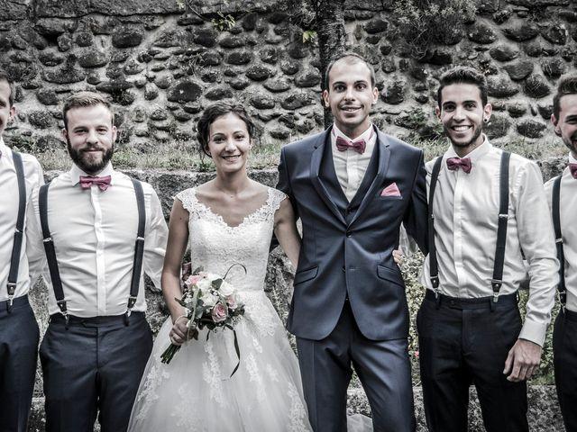 Le mariage de Geoffrey et Sonia à Lussas, Ardèche 31