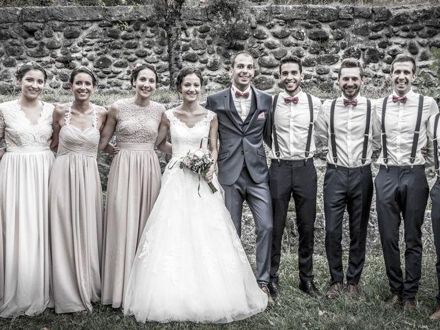 Le mariage de Geoffrey et Sonia à Lussas, Ardèche 32
