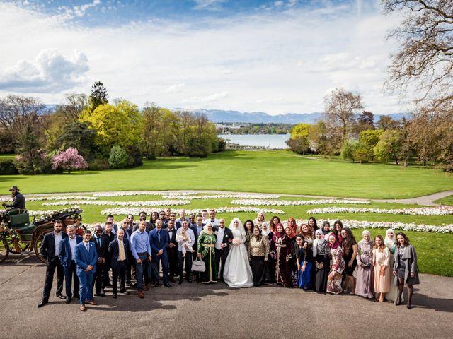 Le mariage de Morad et Sally à Ville-la-Grand, Haute-Savoie 12