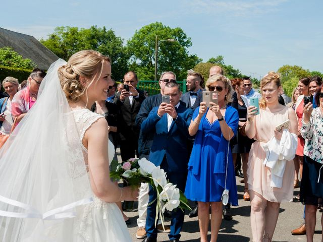 Le mariage de Jérémy et Charlotte à Bayeux, Calvados 18