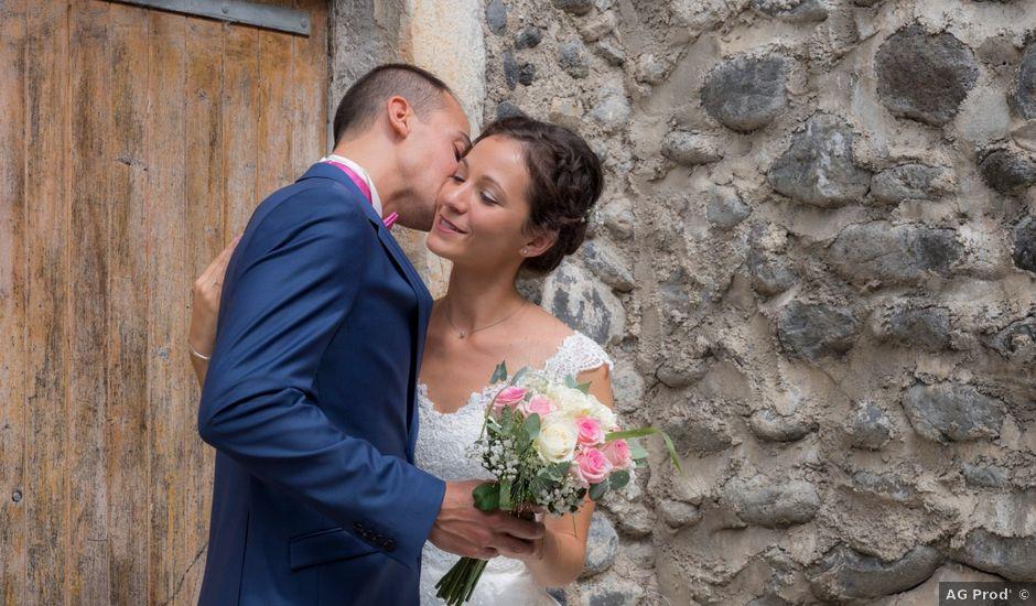 Le mariage de Geoffrey et Sonia à Lussas, Ardèche