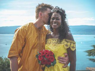 Le mariage de Siga et Anthony