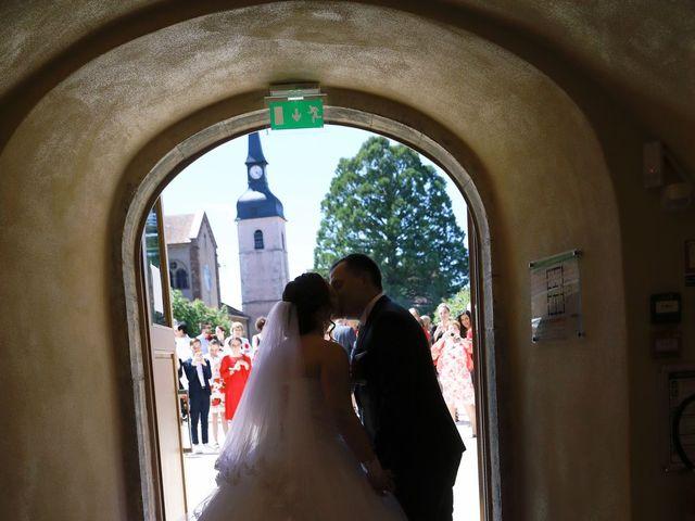 Le mariage de Romain et Coraline à Grandvillars, Territoire de Belfort 29