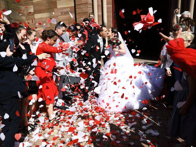 Le mariage de Romain et Coraline à Grandvillars, Territoire de Belfort 48