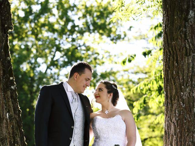 Le mariage de Romain et Coraline à Grandvillars, Territoire de Belfort 67