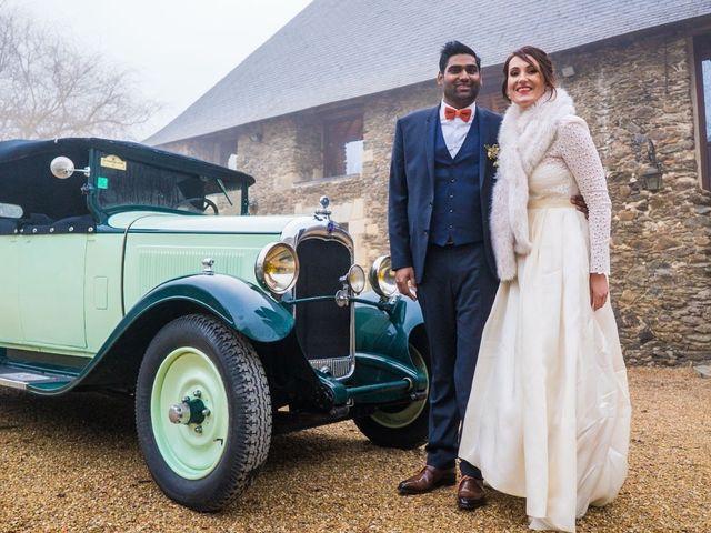 Le mariage de Frederic  et Morgane à Rochefort-sur-Loire, Maine et Loire 20