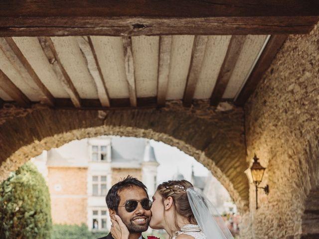 Le mariage de Abhishek et Camille à Nantes, Loire Atlantique 39