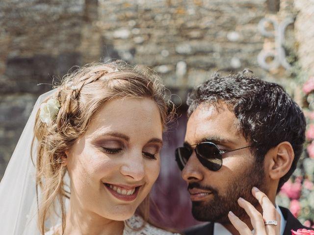 Le mariage de Abhishek et Camille à Nantes, Loire Atlantique 46